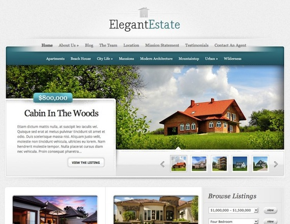 Elegant Estate de Elegant Themes