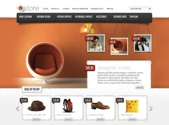 eStore d'Elegant Themes