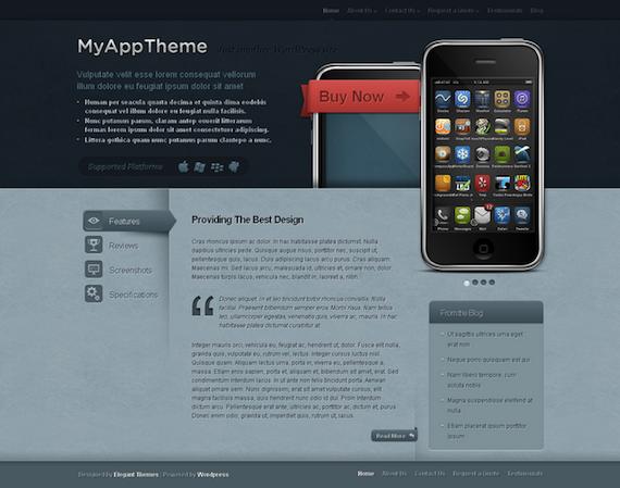 MyApp de Elegant Themes