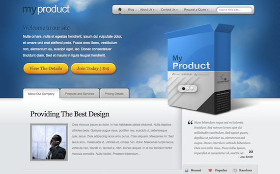 MyProduct d'Elegant Themes